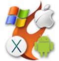Todos do Mac OS X, 32- e 64-bit iOS, Android, 32- e 64-bit Windows plataformas são suportadas